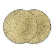 Gradient lautanen 29 cm 2-pakkaus Keltainen