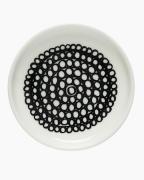 Siirtolapuutarha Lautanen 8.5 cm Valkoinen/Musta